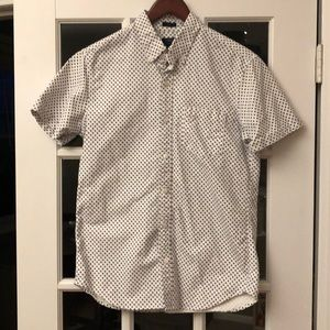 Printed short sleeve oxford J Crew Slim Size M
